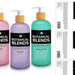 Botanical Blends Label Design Concept 3