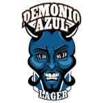 Demonio Azul Label Concept