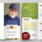 Lobeca Trifold Brochure